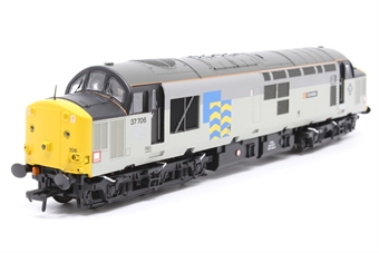 32-390-PO02 Class 37/7 37706 'Conidae' in Railfreight Petroleum livery - Pre-owned -  imperfect box