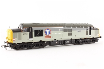 32-390X Class 37/7 Twinpack 37702 'Taff Methyr' in Transrail Triple Grey Livery & 37798 in Mainline Blue Livery - Limited Edition for Foresight Publications