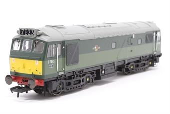 32-400-PO07 Class 25/3 Derby D7645 in BR Green with Roof Headcode - Pre-owned - Two cabside handrails slightly loose, one missing