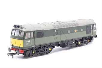 32-405-PO06 Class 25/3 D7646 BR Two Tone Green - Pre-owned - DCC fitted -  imperfect box