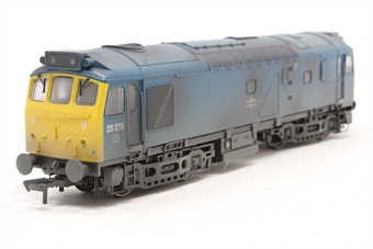 32-407-PO06 Class 25/3 25279 in BR blue - weathered - Pre-owned - Like new