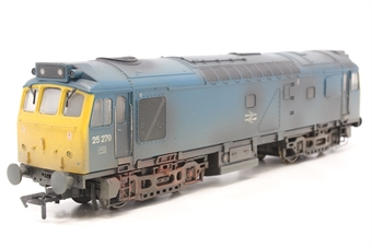 32-407-PO07 Class 25/3 25279 in BR blue - weathered - Pre-owned - DCC Sound-fitted
