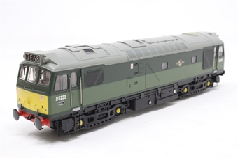 32-411-PO08 Class 25/2 D5233 in Two Tone BR Green with Roof Headcode - Pre-owned - DCC fitted, broken coupling at one end, replacement box