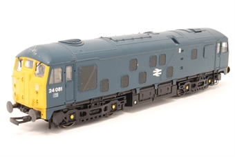 32-425-PO01 Class 24 24081 in BR Blue - Pre-owned - DCC fitted - sticker marks on bodywork - missing both coupling hooks