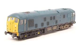 32-425-PO04 Class 24 24081 in BR Blue - Pre-owned - Body loose from chassis, NEM Sockets and couplings removed, repainted front end, etched fan grill fitted, weathered, Transfers including numbers removed