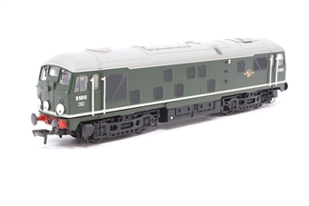 32-430-PO06 Class 24 D5013 in BR Plain Green - Pre-owned - DCC fitted, detailed with route discs and glue marks on ends