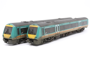 32-450-PO05 Class 170/1 Turbostar 2 car DMU in Midland Mainline livery - Pre-owned - weathered, imprefect box