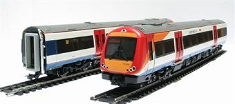 32-452A Class 170/3 Turbostar 2 car DMU in South West Trains livery