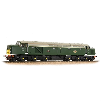 """32-487 Class 40 D213 """"Andania"""" in BR green with small yellow panels - as preserved"""