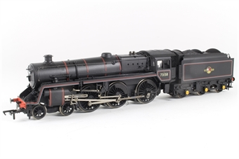 32-501 Standard class 5MT 4-6-0 73158 in BR black with late crest