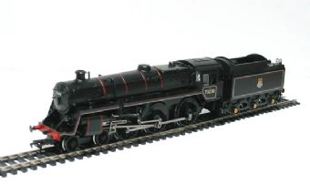 32-503 Standard class 5MT 73030 & BR1 tender & Westinghouse pump in BR black with early emblem £88