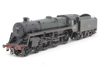 32-504-PO12 Standard class 5MT 73035 & BR1 tender in BR green with late crest - Pre-owned - renumbered
