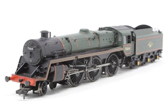 32-504-PO13 Standard class 5MT 73014 & BR1 tender in BR green with late crest - Pre-owned - DCC fitted