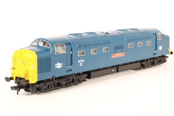 """32-525NRM Class 55 Deltic 55002 """"Kings Own Yorkshire Light Infantry"""" in BR blue with yellow ends - Exclusive to NRM"""