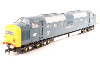 32-525T Class 55 Deltic 55022 'Royal Scots Grey' in BR Blue Livery with Domino Head Code - Limited Edition for CFPS