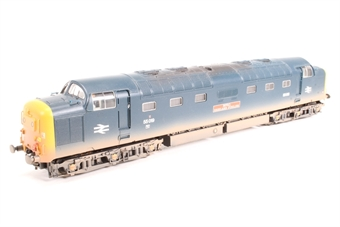32-525W Class 55 Deltic 55019 'Royal Highland Fusilier' in BR Blue with Domino Head Code - Limited Edition for DPS
