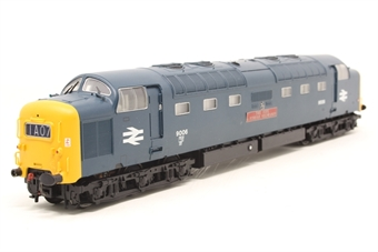 32-526-PO14 Class 55 Deltic 55020 'Nimbus' in BR Blue - Pre-owned - TMC renumbered & detailed - in TMC box - broken buffer - missing couplings