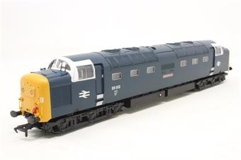 32-527-PO08 Class 55 Deltic 55012 'Crepello' in BR Blue - Pre-owned - Like new, imperfect box