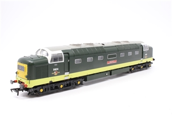 32-529A-PO03 Class 55 Deltic D9014 'The Duke of Wellington's Regiment' in BR Two Tone Green - Pre-owned - Like new