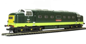 32-529A Class 55 Deltic D9014 'The Duke of Wellington's Regiment' in BR Two Tone Green