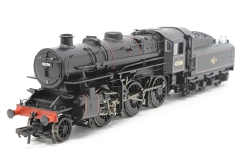 32-585-PO11 Ivatt class 4 2-6-0 43106 & tender in BR black with late crest & tablet catcher - Pre-owned - Like new