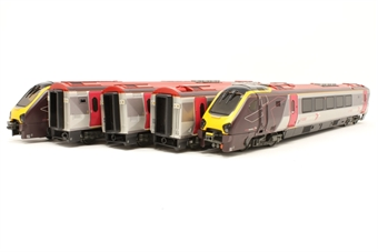 """32-628-PO04 Class 221 5 car DMU 221135 Cross Country tilting """"Voyager"""" - Pre-owned - imperfect box £200"""