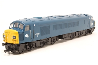 32-677A-PO02 Class 45 45120 in BR Blue with Split Head Code Boxes - Pre-owned - imperfect box