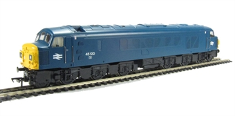 32-677A Class 45 45120 in BR Blue with Split Head Code Boxes
