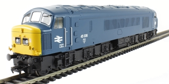 32-680 Class 45 45036 in BR Blue with Split Centre Headcode