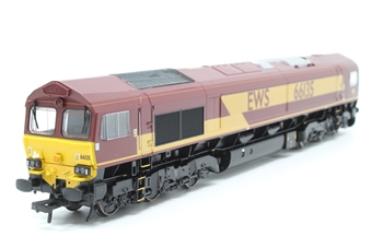 32-725-PO19 Class 66 66135 in EWS Livery - Pre-owned - Like new