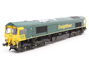 32-726-PO11 Class 66 66610 in Freightliner Livery - Pre-owned - Like new