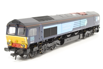 32-731-PO12 Class 66 66407 in DRS Livery - Pre-owned - DCC fitted