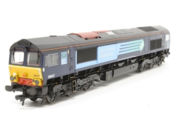 32-731-PO13 Class 66 66407 in DRS Livery - Pre-owned -  imperfect box