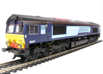 32-731 Class 66 66407 in DRS Livery