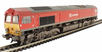 32-734A Class 66 66101 in DB Schenker Livery (weathered)