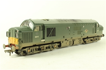 32-776K Class 37/0 D6717 in BR Green with Late Crest, Yellow Ends & Split Head Code Boxes - Collectors Club Limited Edition