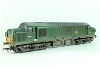 32-776Y Class 37/0 D6711 in BR Green with Late Crest, Split Head Code Boxes & Small Yellow Panels - Weathered - Limited Edition