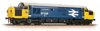 "32-780RJDS Class 37/0 37025 ""Inverness TMD"" in BR large logo blue - Limited Edition of 512 for Northern UK Bachmann Retailers - DCC Sound Fitted - Sold out on Pre-Order"