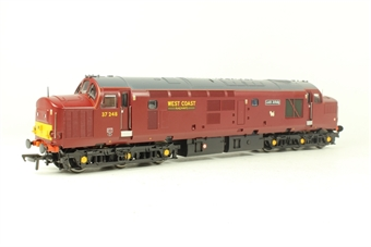 32-780V Class 37 37248 'Loch Arkaig' West Coast Railways Maroon - Model Rail Limited Edition