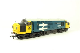 32-780Y Class 37 37025 'Inverness TMD' in BR large logo blue - Rails of Sheffield Limited Edition
