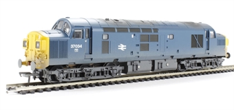 32-781A Class 37/0 37034 in BR Blue with Split Head Code (weathered)