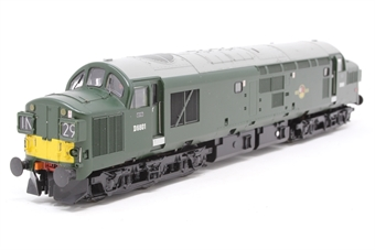 32-782-PO06 Class 37/0 D6801 in BR Green with Split Head Code and Bufferbeam Skirts - Pre-owned - DCC Sound-fitted
