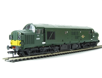 32-782 Class 37/0 D6801 in BR Green with Split Head Code and Bufferbeam Skirts