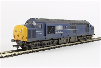 32-784 Class 37/0 37242 in Mainline Blue with Centre Headcodes (weathered)
