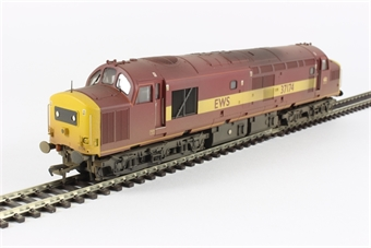 32-786 Class 37/0 37174 in EWS livery (weathered)