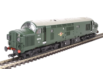32-787 Class 37/0 D6714 in BR green with no yellow ends
