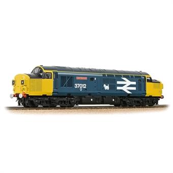 "32-790A Class 37/0 37012 ""Loch Rannoch"" in BR large logo blue"