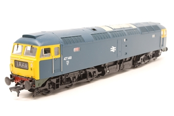 32-803-PO13 Class 47/0 47148 in BR Blue with Full Yellow Ends & Illuminated Four Digit Headcode  - Pre-owned - Like new