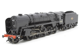 32-857-PO04 Class 9F standard 2-10-0 92077 in BR black with late crest with BR1C tender - Pre-owned - DCC fitted - Imperfect box