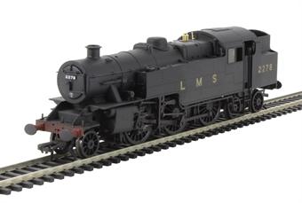 32-880 Class 4MT Fairburn 2-6-4 tank 2278 LMS black - weathered